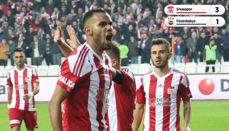 Lider Sivasspor, Fenerbahçe engelini geçti (İZLE)