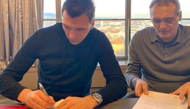 Mandzukic transferi resmen açıklandı! Falcao iddiası