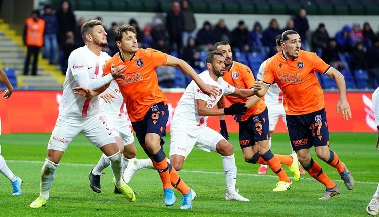 Medipol Başakşehir 2-0 Antalyaspor maç özeti ve golleri (İZLE)