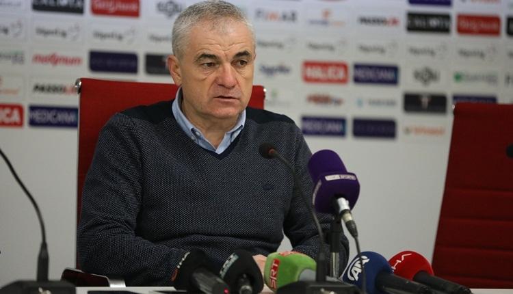 Rıza Çalımbay'dan şampiyonluk, transfer ve Beşiktaş açıklamlaları