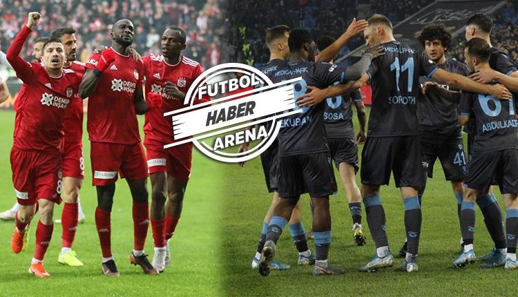 Sivasspor sahasında, Başakşehir ve Trabzon deplasmanda başarılı