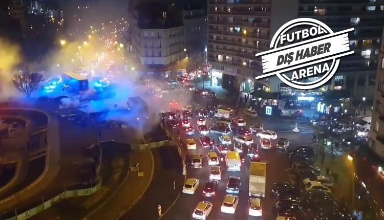 Son dakika! Galatasaray taraftarlarına Paris'te saldırı
