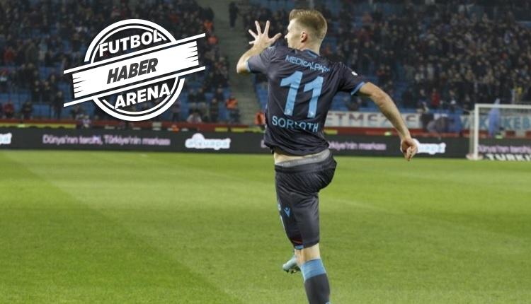 Sörloth şov! Trabzonspor'da kariyer rekorunu egale etti