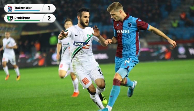 Trabzonspor 1-2 Denizlispor, Bein Sports maç özeti ve golleri (İZLE)