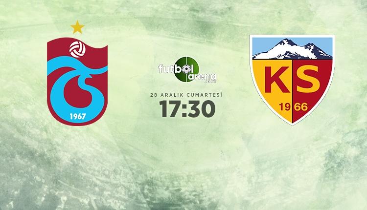 Trabzonspor-Kayserispor canlı izle (Trabzonspor - Kayserispor şifresiz İZLE)