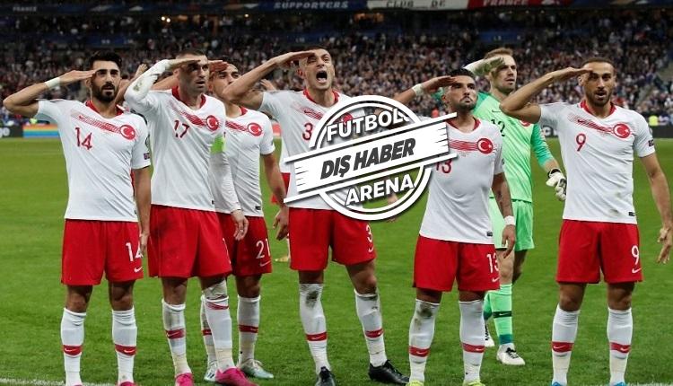 UEFA'dan Milli Takım, Başakşehir ve Dybala'ya asker selamı cezası