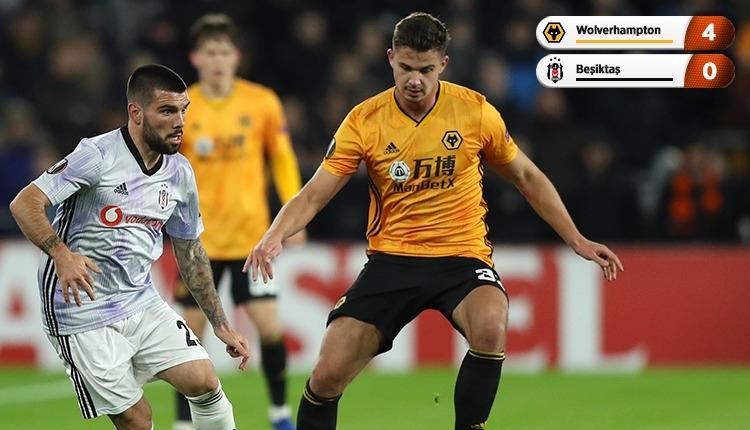 Wolverhampton 4-0 Beşiktaş maç özeti ve golleri (İZLE)