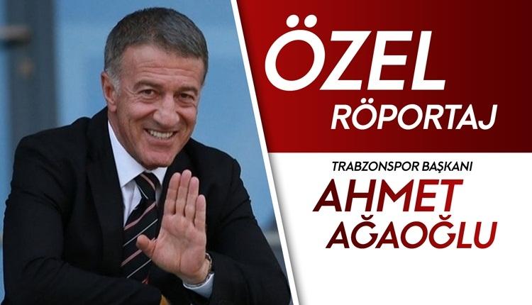Ahmet Ağaoğlu, FutbolArena'ya konuştu: 'Talisca gündemde yok'