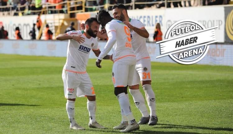 Alanyaspor 5-1 Kayserispor maç özeti ve golleri İZLE