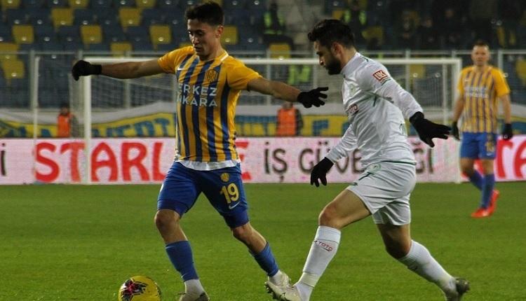 Ankaragücü 0-1 Konyaspor maç özeti ve golü (İZLE)