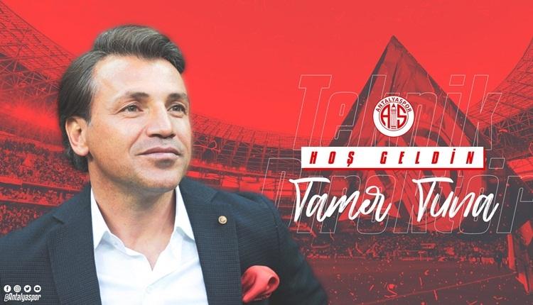 Antalyaspor'un yeni teknik direktörü Tamer Tuna oldu