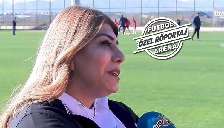 Berna Gözbaşı, FutbolArena'ya konuştu