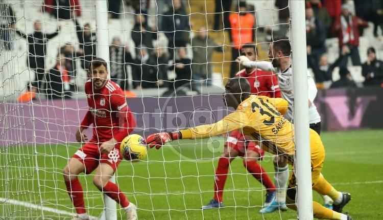 Beşiktaş 1-2 Sivasspor, Bein Sports maç özeti ve golleri (İZLE)