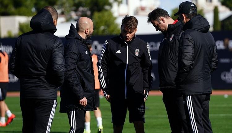 Beşiktaş'ta Adem Ljajic şoku! İdmanı yarıda bıraktı