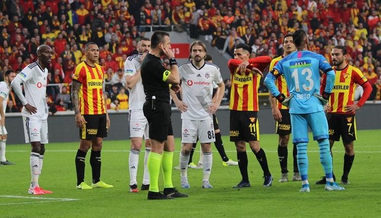 Beşiktaş'tan TFF'ye Göztepe maçı için kural hatası başvurusu