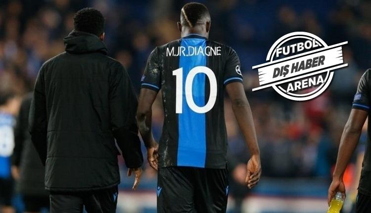 Diagne belirsizliği! Ne Club Brugge ne Galatasaray