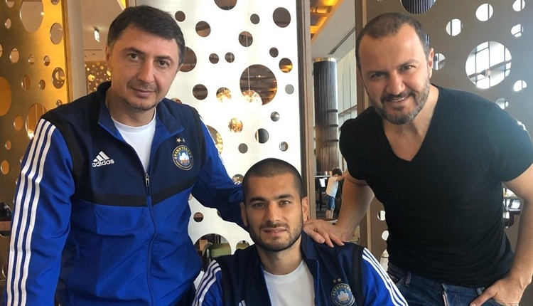 Eren Derdiyok, Özbekistan'a transfer oldu! Şota sürprizi