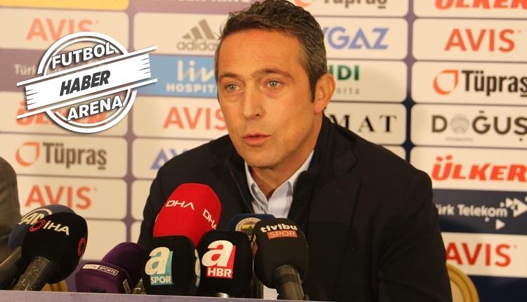 Ali Koç'tan sert sözler: 'Transfer yapmamız istenmiyor'