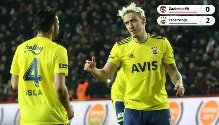 Fenerbahçe, Gaziantep'ten 3 puanla döndü (İZLE)