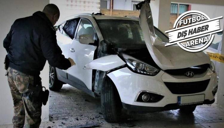 Flaş! Hakemin arabasına bombalı saldırı