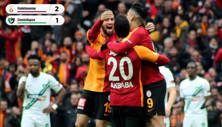 Galatasaray, Denizlispor engelini geçti (İZLE)