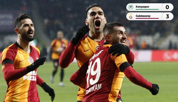 Galatasaray, Konya deplasmanında rahat kazandı (İZLE)