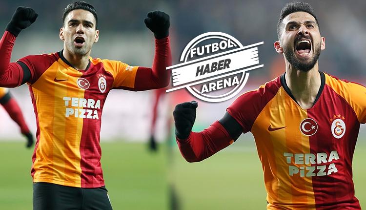 Galatasaray'da Falcao ve Emre Akbaba farkı