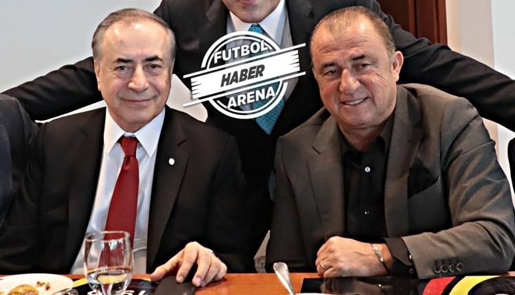 Galatasaray'da transfer zirvesi! Fatih Terim ve Mustafa Cengiz