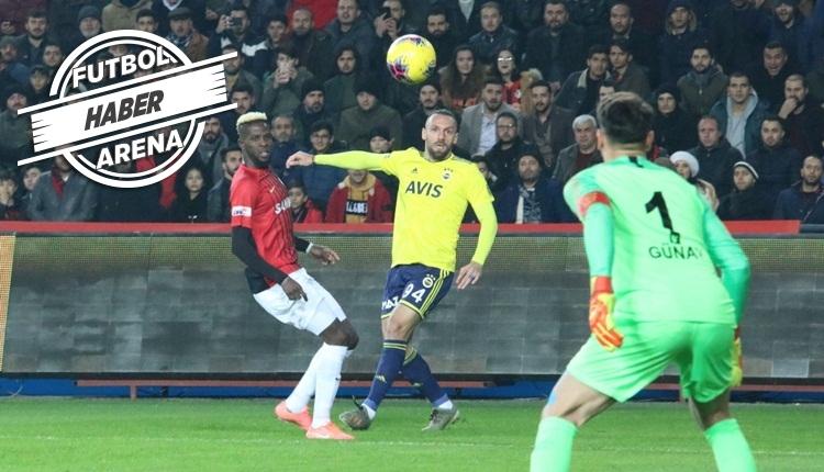 Gaziantep FK 0-2 Fenerbahçe, Bein Sports maç özeti ve golleri (İZLE)
