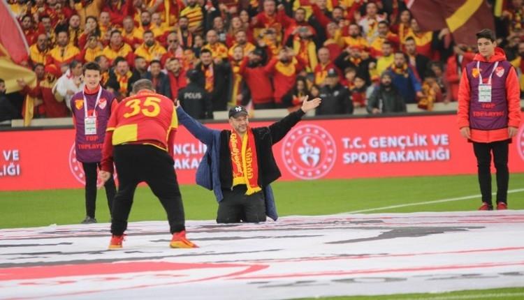 Göztepe - Beşiktaş maçında üçlü çektiren Rıza Kocaoğlu'na ceza