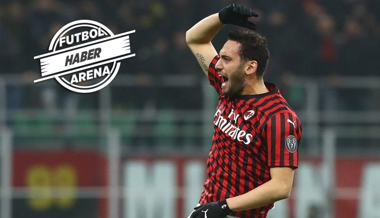 Hakan Çalhanoğlu, Milan'ı yarı finale taşıdı! (2 gol izle)