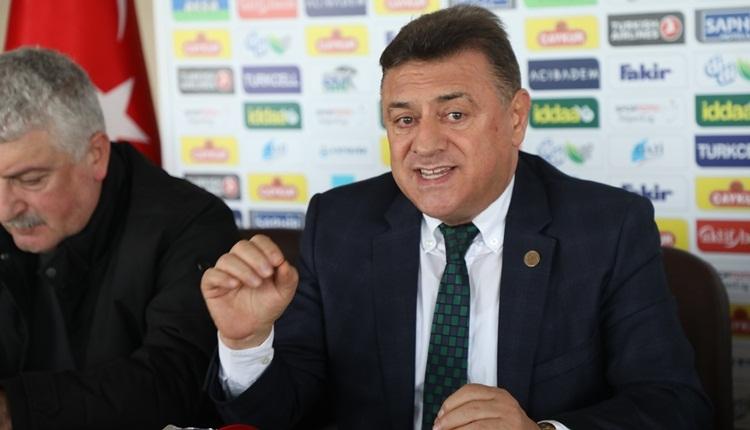 Hasan Kartal'dan Galatasaray maçı hakemine gönderme