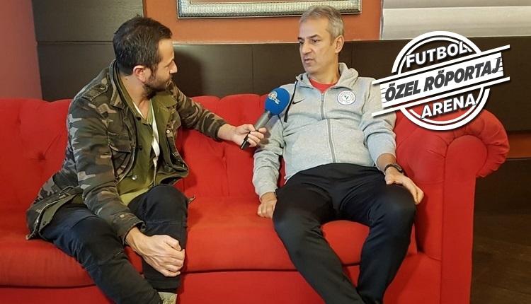 İsmail Kartal FutbolArena'nın konuğu: 'Fenerbahçe maçı sözleri'