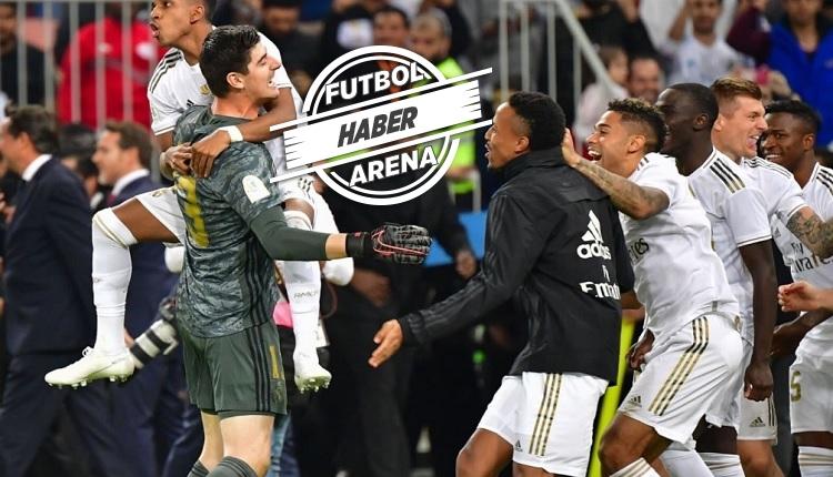 İspanya Süper Kupa şampiyonu Real Madrid! Zidane 9'da 9 yaptı