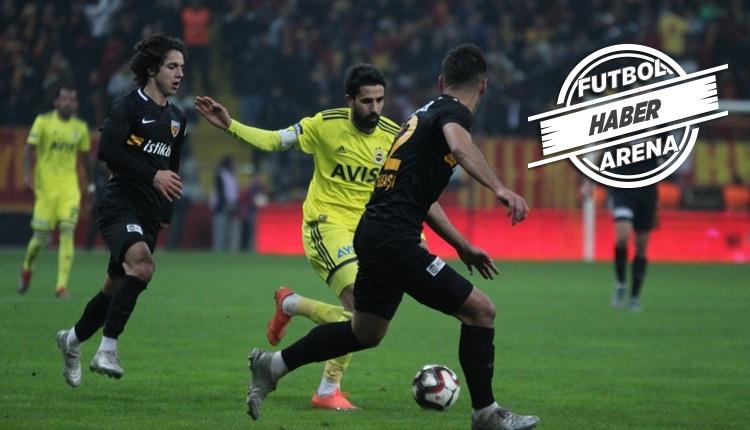 Kayserispor 0-0 Fenerbahçe, Türkiye Kupası maç özeti (İZLE)