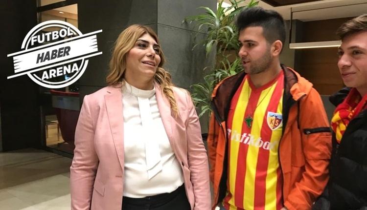 Kayserispor Başkanı Berna Gözbaşı transfer lisans problemini çözdü