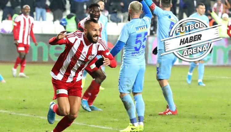 Lider uzatmada kurtardı! (Sivasspor 1-1 Rizespor maç özeti izle)