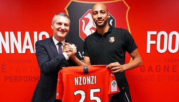 Nzonzi, Rennes'e transfer oldu! Galatasaray'dan açıklama