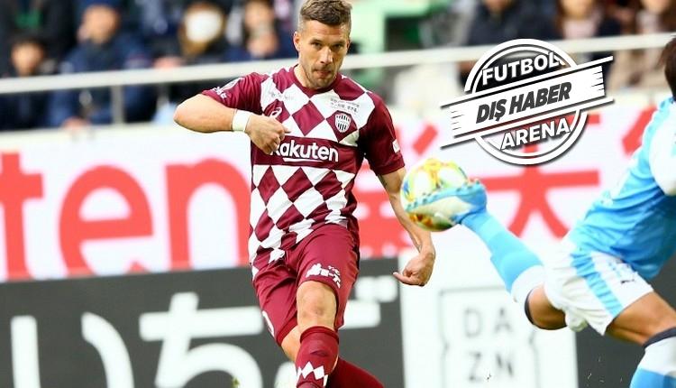 Podolski için transfer açıklaması! Japonya'dan ayrılıyor