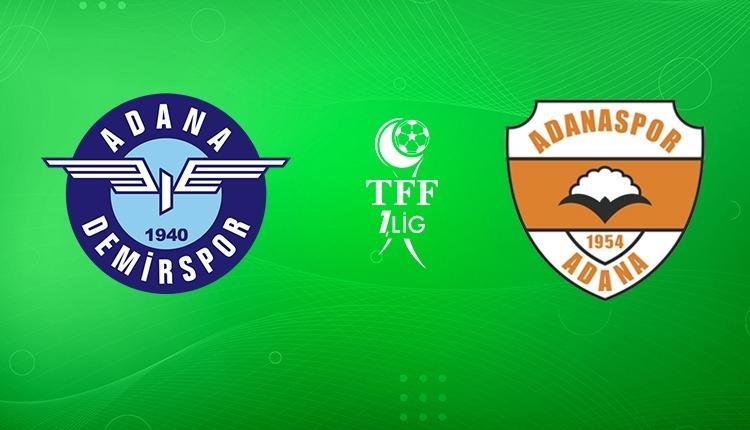 Adana Demirspor-Adanaspor canlı izle (Adana Demirspor Adanaspor beIN Sports MAX 1 canlı ve şifresiz izle)
