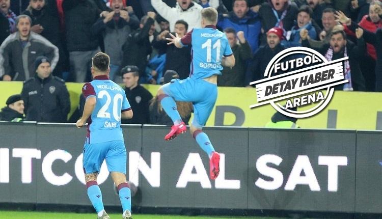 Alexander Sörloth, Trabzonspor'un tarihine geçti