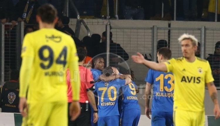 Ankaragücü 2-1 Fenerbahçe, Bein Sports maç özeti ve golleri (İZLE)