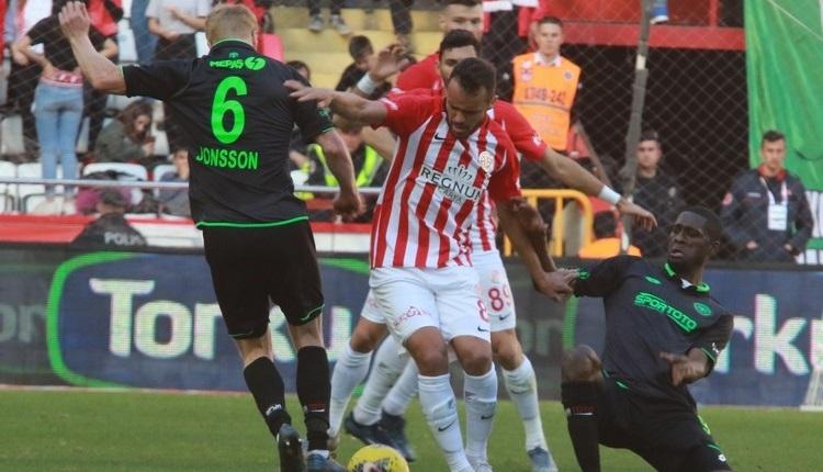 Antalya'da golsüz beraberlik! Antalyaspor - Konyaspor maç özeti