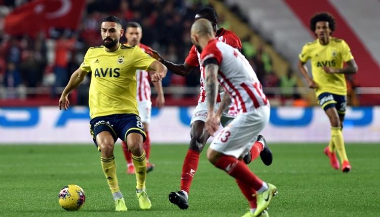 Antalyaspor 2-2 Fenerbahçe, Bein Sports maç özeti ve golleri (İZLE)