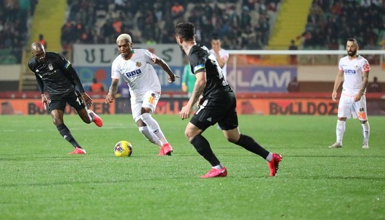 Aytemiz Alanyaspor 1-2 Beşiktaş, Bein Sports maç özeti ve golleri (İZLE)