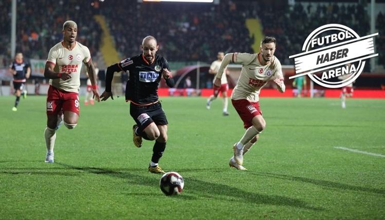 Aytemiz Alanyaspor 2-0 Galatasaray maç özeti ve golleri (İZLE)