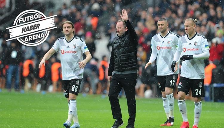 Beşiktaş 8 maç sonra ilki yaşadı! Sergen Yalçın rüzgarı