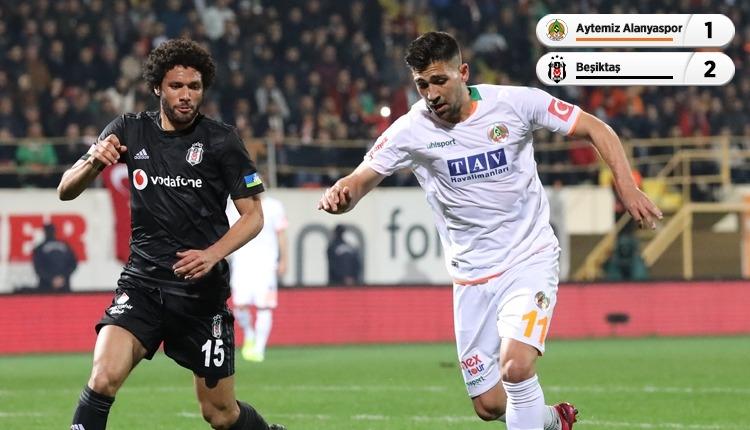 Beşiktaş, Alanya'da Burak Yılmaz ile kazandı (İZLE)