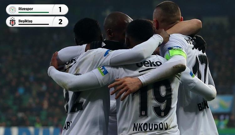 Beşiktaş, Rize'den galip döndü! Sergen Yalçın ile ilk zafer (İZLE)