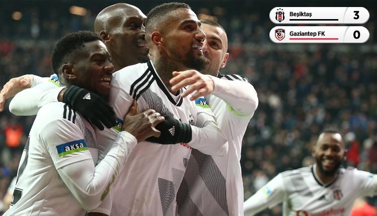 Beşiktaş, Vodafone Park'ta Gaziantep FK engelini geçti (İZLE)